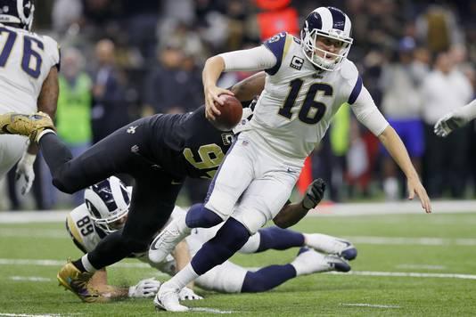 Jared Goff van Los Angeles Rams.
