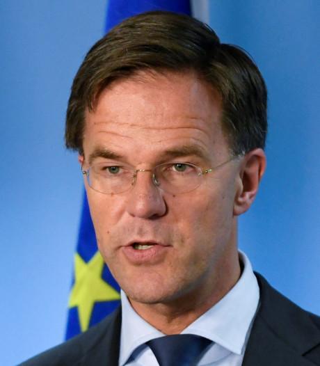 Rutte sluit Europese topfunctie in Brussel uit