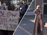 Sekswerkers protesteren: 'Behandel ons als de andere contactberoepen'
