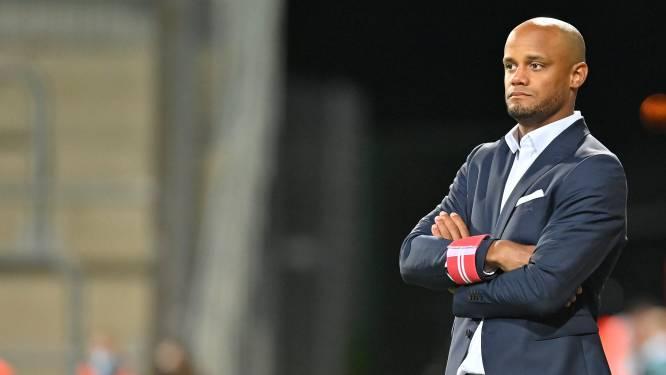 Vincent Kompany in theorie geen hoofdcoach van Anderlecht voor Europees duel tegen FK Laçi