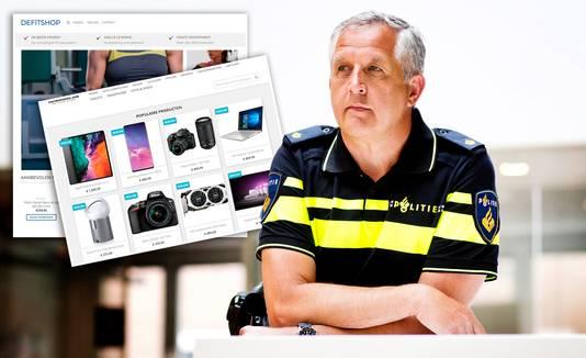 Gijs van der Linden van het Landelijk Meldpunt Internet Oplichting van de politie.