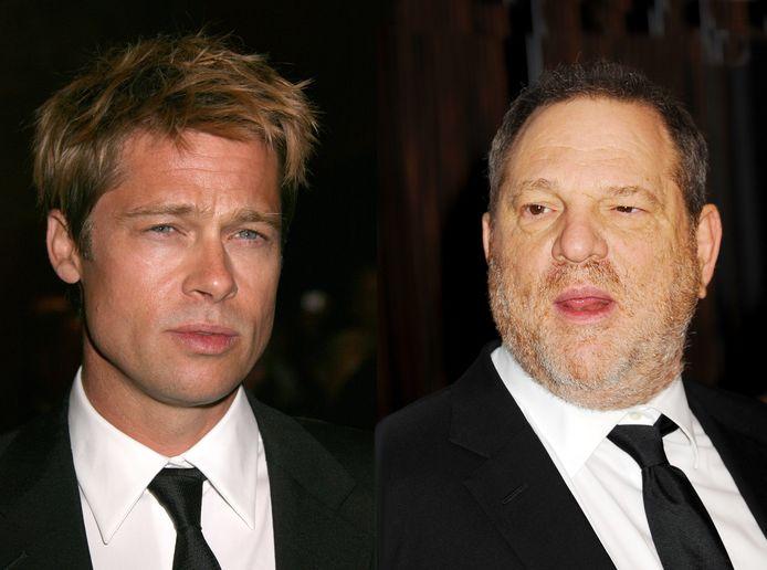 Brad PItt en Harvey Weinstein