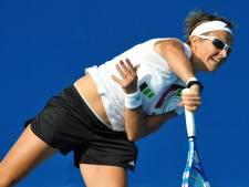Kirsten Flipkens n'aura pas fait long feu à Melbourne