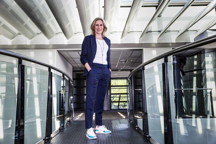 Jolanda Jansen, directeur van Ahoy Rotterdam en woordvoerder van een alliantie van de Nederlandse sportwereld en de evenementenbranche. De organisaties willen experimenteren met evenementen