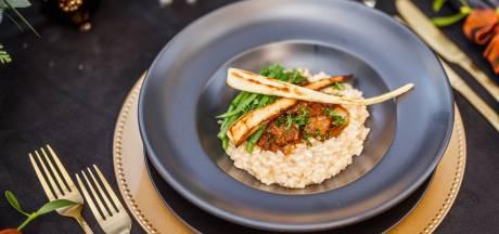 Wat Eten We Vandaag: Risotto met stoofvlees, haricot verts en pastinaak