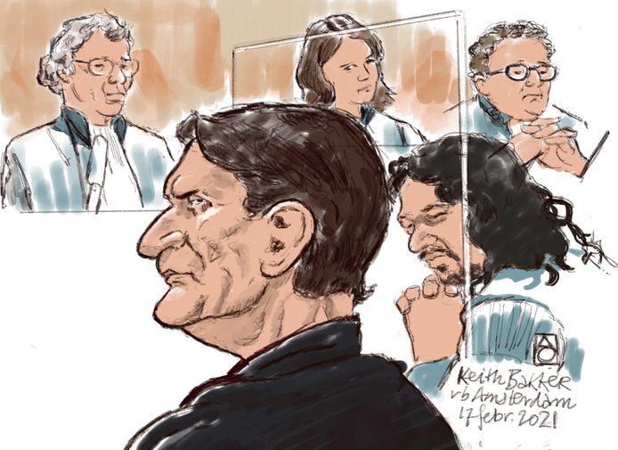 Keith Bakker ontkent dat hij het meisje seksueel heeft misbruikt. Volgens hem waren ze allebei stapelverliefd.