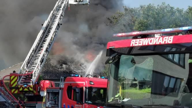 Woningbrand in Grimbergen: bungalow volledig verwoest