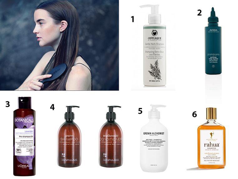 NINA's selectie van natuurlijke shampoo