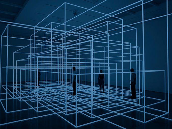 Breathing Room van de Britse kunstenaar Antony Gormley