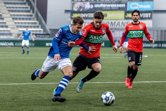 FC Den Bosch en NEC werd eerder dit seizoen 2-2.