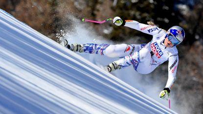 Lindsey Vonn zegt Wereldbekerweekeinde in Garmisch-Partenkirchen af