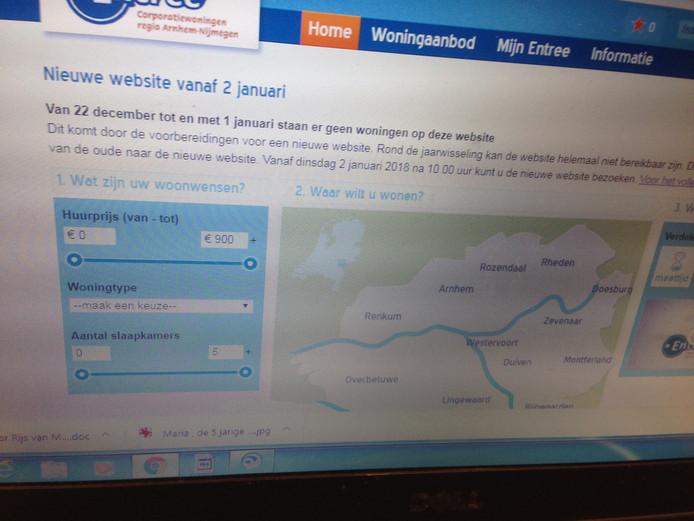 tijdelijk geen huurwoningen te bekijken via entree | nijmegen | ad.nl