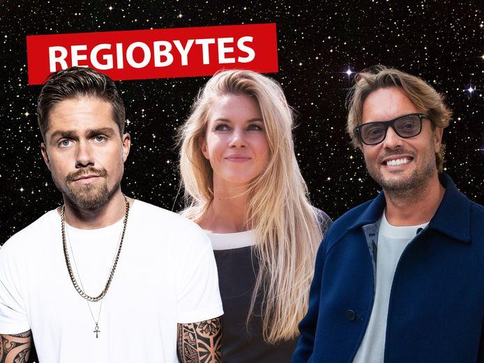 Regiobytes AD Groene Hart: André Hazes, Anouk Hoogendijk en Bas Smit.