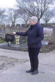 Plots heeft Ans' overleden vader geen graf meer
