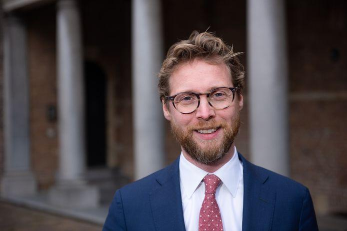 Maarten Burggraaf, wethouder in Dordrecht.