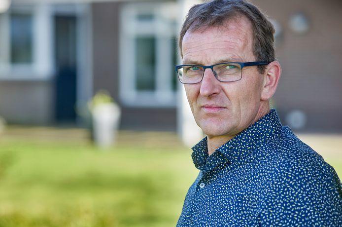 André van der Heijden uit Keldonk. Zijn moeder ligt met corona in een ziekenhuis in Emmen.