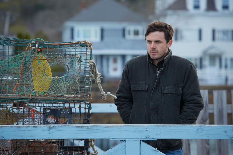 Casey Affleck in Manchester By The Sea. Beeld