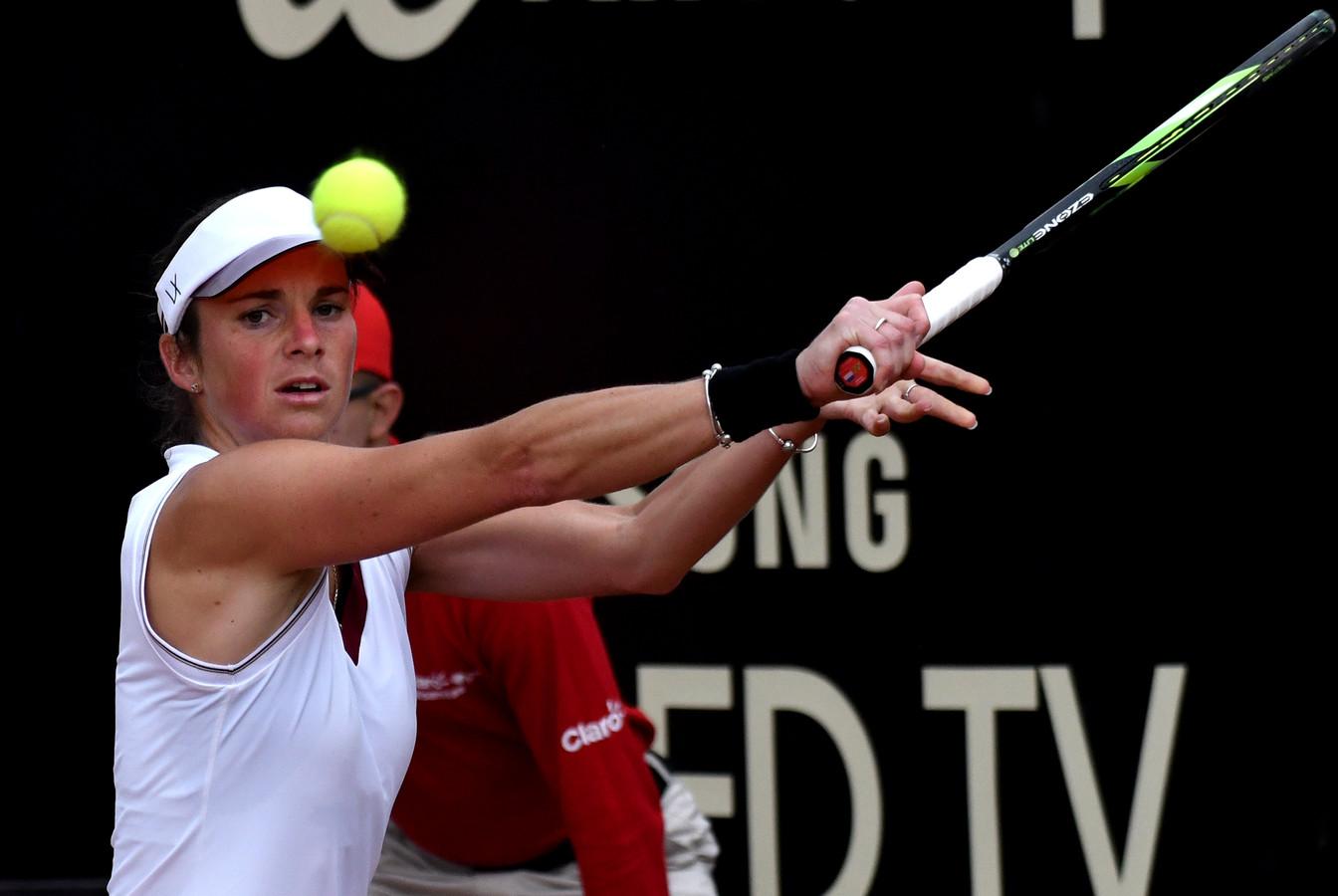 Bibiane Schoofs speelt op het NK. Ze pakte in 2016 de nationale titel.