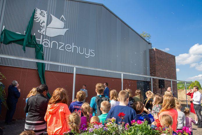De officiële opening van MFA Het Hanzehuys in Maasbommel in 2019.
