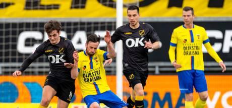 NAC verliest van kampioen Cambuur en begint play-offs tegen FC Volendam