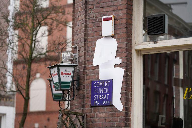Govert Flinckstraat Beeld Frankey