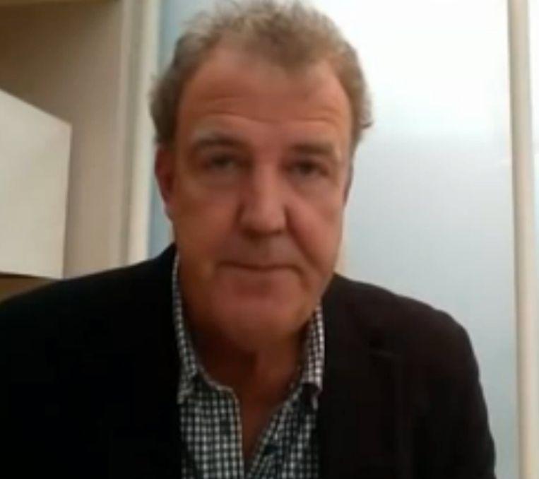Een berouwvolle Clarkson. Beeld YouTube