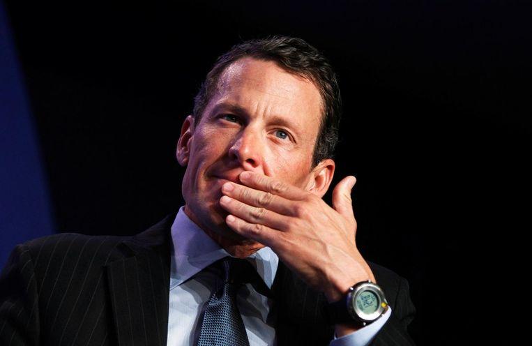 Lance Armstrong. Beeld Photo News