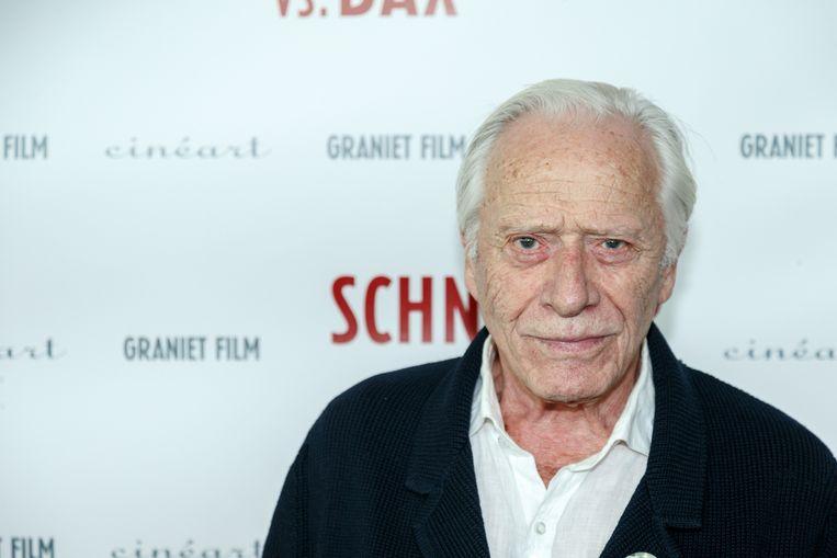 Henri Garcin bij de première van Van Warmerdams film Schneider vs. Bax in 2015. Beeld ANP