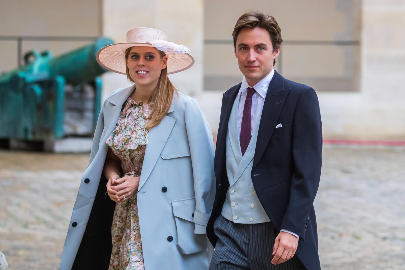 De Britse prinses Beatrice en haar echtgenoot Edoardo Mapelli Mozzi.