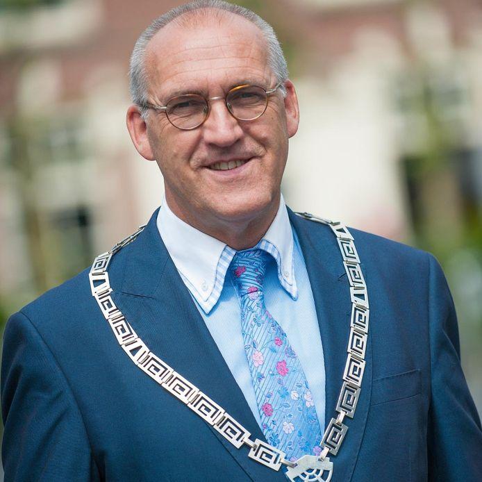 Burgemeester Adriaan Hoogendoorn.