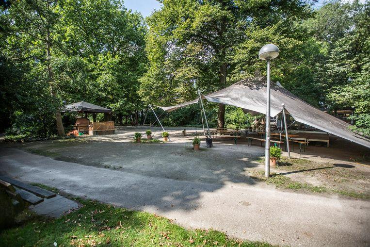 'De tuin van de Tolhuistuin is een klein paradijsje midden in de stad' Beeld Eva Plevier