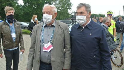 GP Vermarc Sport begint met minuut stilte in aanwezigheid van Eddy Merckx voor overleden wielrenner Niels de Vriendt