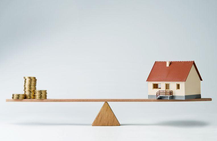 Het ziet er niet direct naar uit dat de rente snel de hoogte inschiet, zo leert een rondvraag bij enkele banken. Beeld Shutterstock