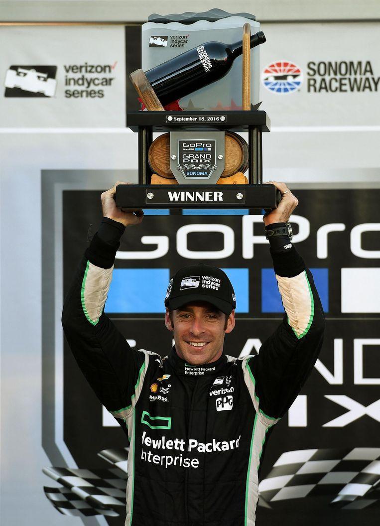 Autosport - Joey Logano<br /><br /> Beeld .
