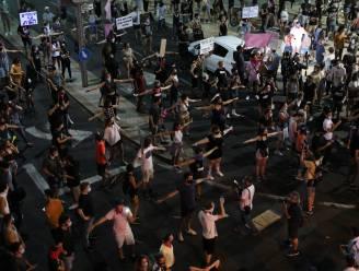 Duizenden Israëli's protesteren tegen Netanyahu ondanks verbod