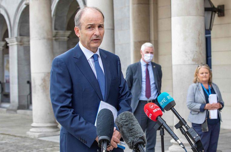 De Ierse premier Micheál Martin Beeld AFP