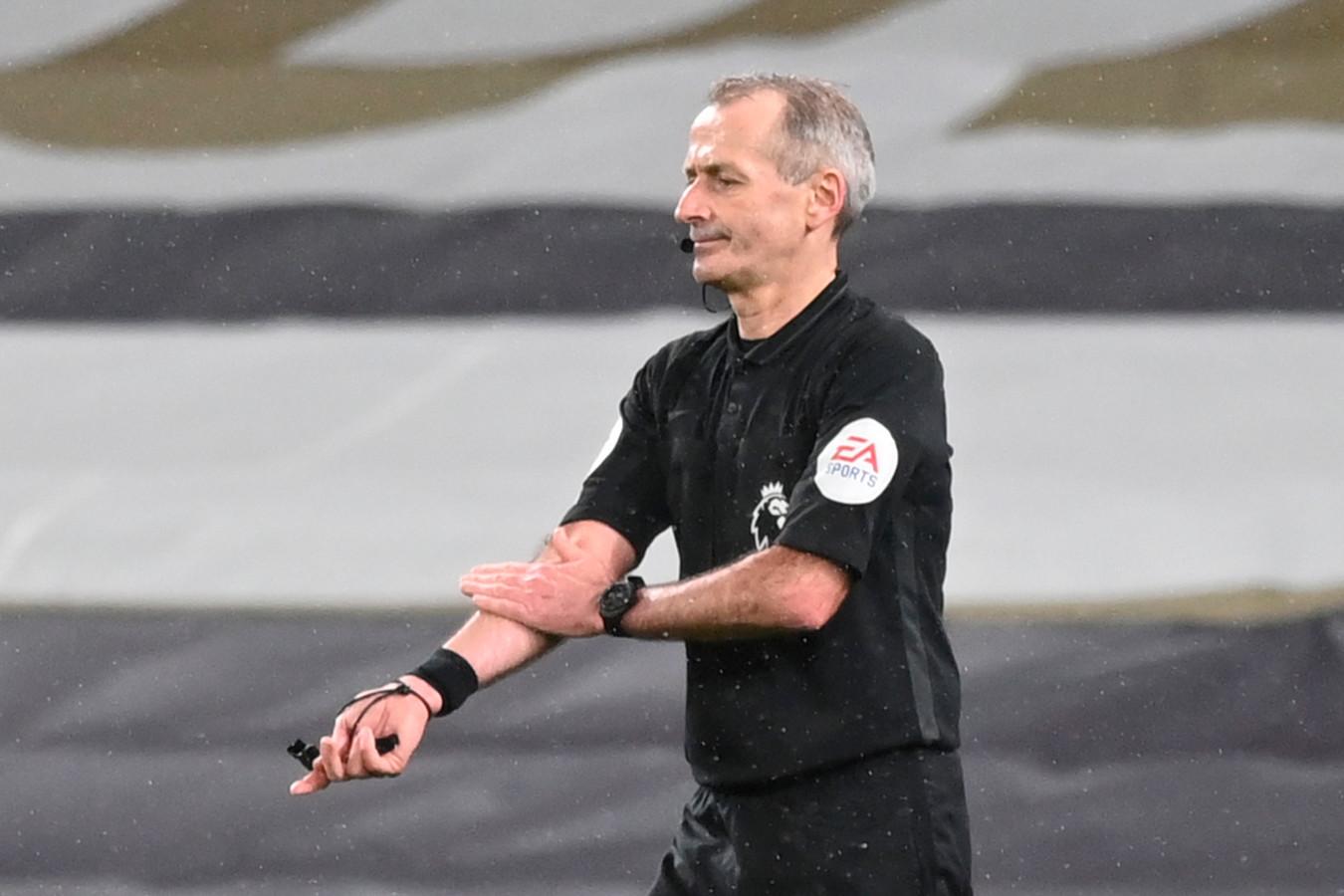 Premier League-scheidsrechter Martin Atkinson.