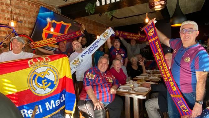 """Gentse fanclubs FC Barcelona en Real Madrid verbroederen voor match: """"Supporters van Brugge of Gent zie ik dit niet meteen doen"""""""