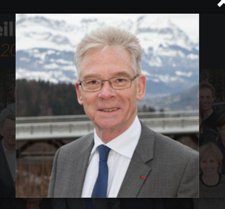 Burgemeester Jean-Marc Peillex van Saint-Gervais. Beeld Peillex