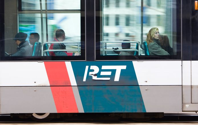 Een RET-tram. Foto ter illustratie.