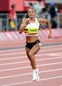 Nafi Thiam op de 200m