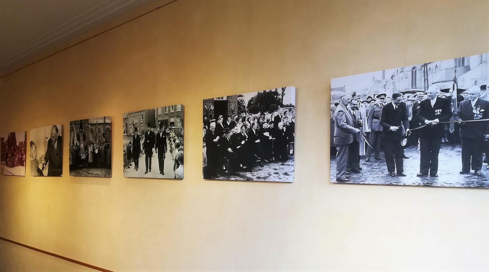 'Kortemark Verbeeldt' toont foto's van verschillende burgemeesters uit de gemeente