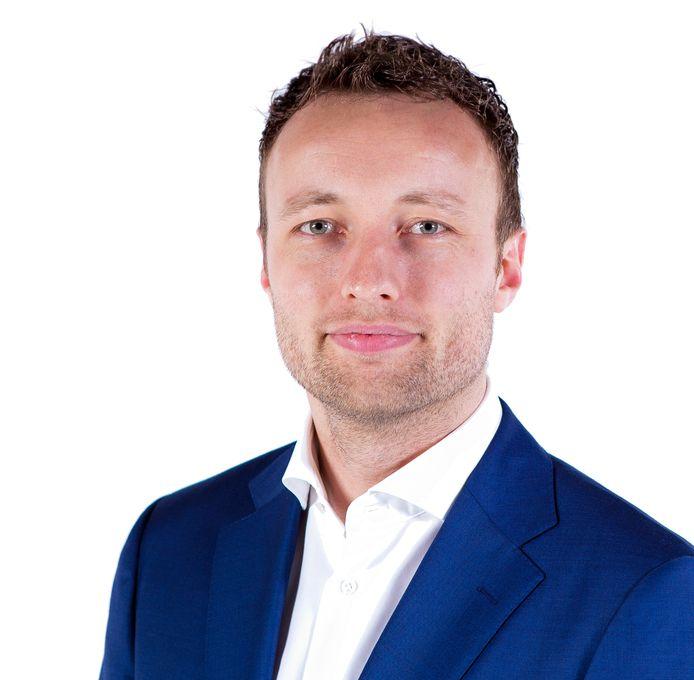 Koen Kegel is gisteravond gekozen tot nieuwe lijsttrekker voor D66 Vlaardingen.