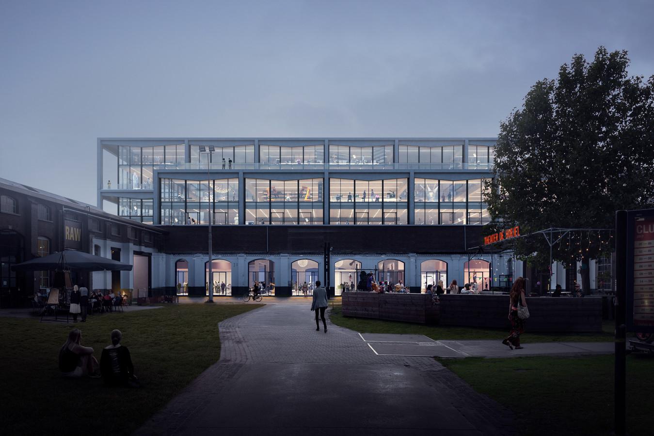 Mindlabs is tijdelijk gevestigd in het Deprez-gebouw aan de Lange Nieuwstraat, maar krijgt uiteindelijk een vast onderkomen in de nieuwbouw aan de oostkant van de LocHal.