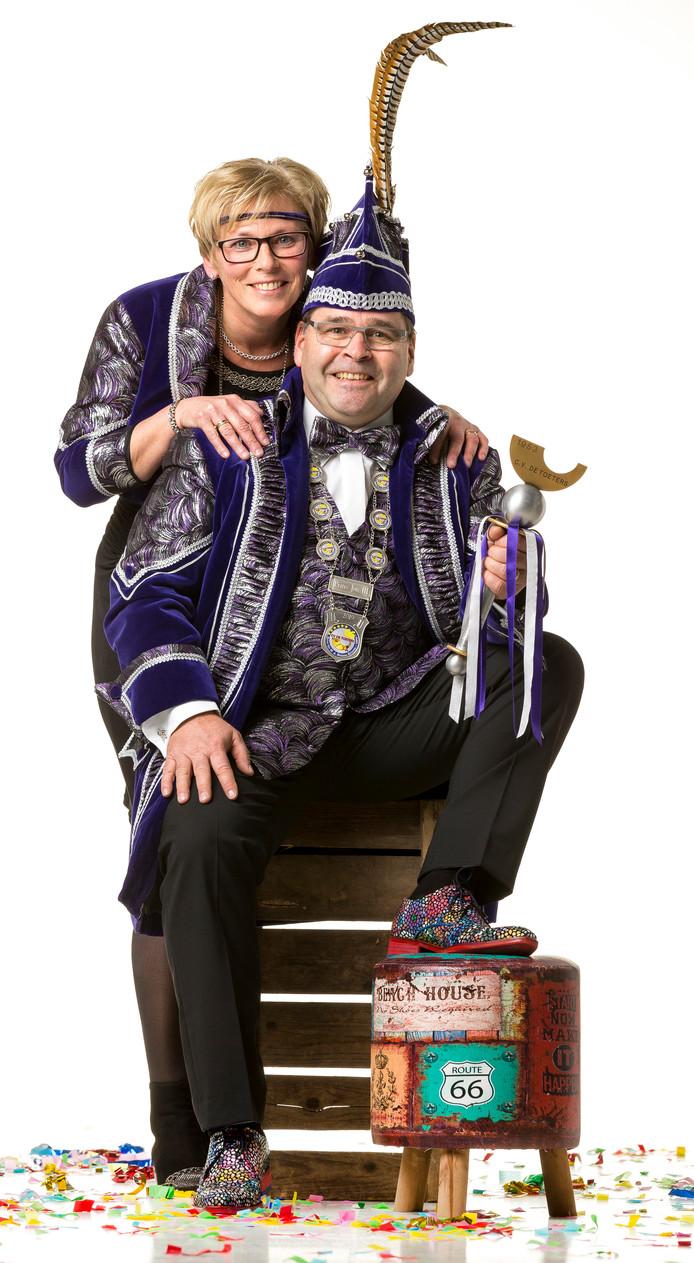 Prins Jos III en prinses Driena.