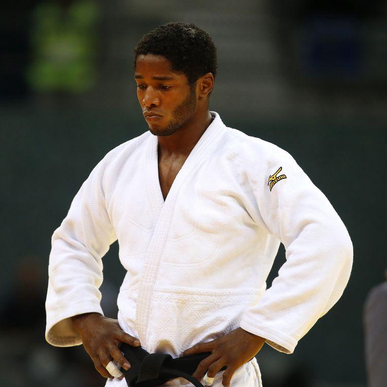 Dex Elmont stapt rond 15 uur op de judomat. Beeld PRO SHOTS