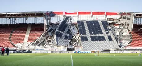 'Dakconstructie AZ-stadion was door bezuiniging veel te licht gebouwd'