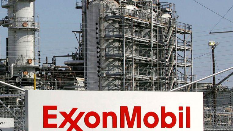 Een raffinaderij van Exxon in Texas. Beeld Reuters