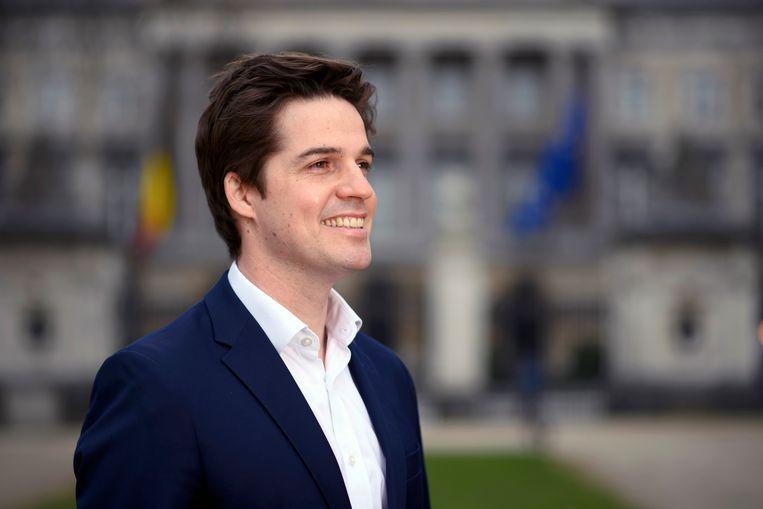 Staatssecretaris voor Relance Thomas Dermine. Beeld Photo News