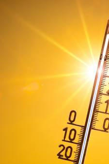 Warmste 25 juni ooit, Volkel is het warmst van Brabant